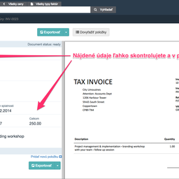 Small square purchase invoice detail   datamolino